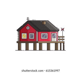 House On Stilts Images, Stock Photos & Vectors | Shutterstock
