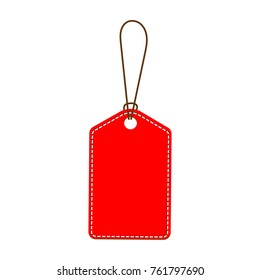 Red Tag vector illustration