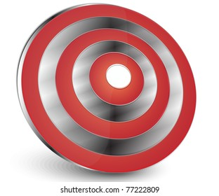 red target abstract icon