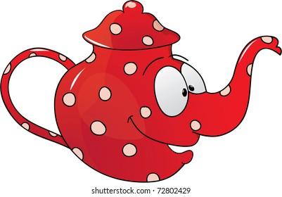 Royalty Free Teapot Cartoon Images Stock Photos Vectors