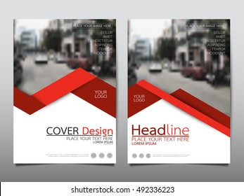 Red technology cover business brochure vector design, Leaflet advertising abstract background, Modern poster magazine layout template, Annual report for presentation.