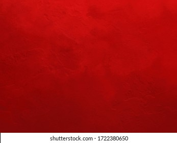 Red texture background vector, classic Christmas color red metal or wall illustration with faint old vintage distressed texture, classy luxury solid vector design that is scalable