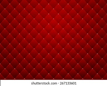 Red texture, seamless diamond pattern background - vector eps10