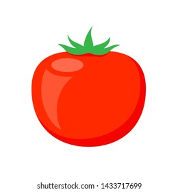 red tomato clip art isolated on white background, tomatos cartoon infographics, illustration cartoon tomato simple flat, cute tomato for kindergarten child learning, tomato for flash card of kids