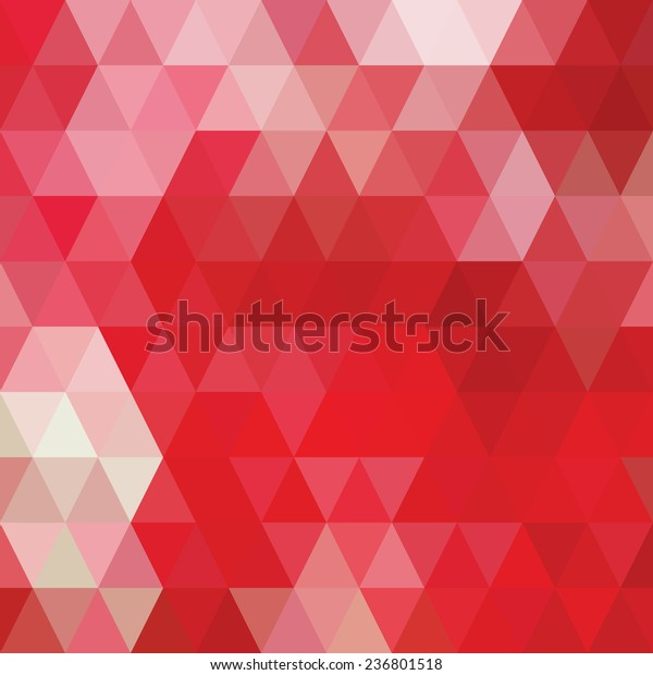 Vector De Stock Libre De Regalías Sobre Red Tone Geometric