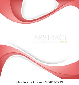 Red vector background overlap layer with spaces for text background poster design