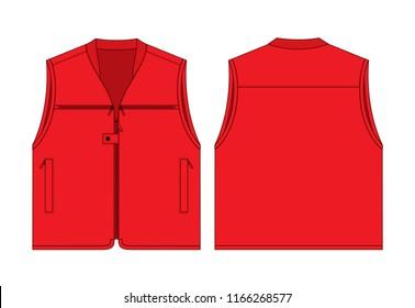 model vest template images stock photos vectors shutterstock