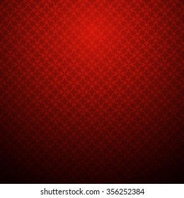 red vintage pattern texture background vector