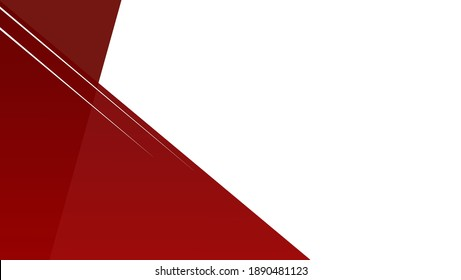 Red and white background vector illustration