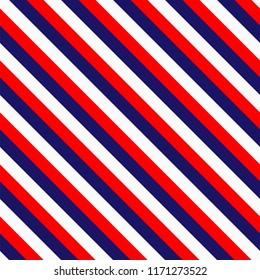 Red White Blue Line Pattern Design Vector Image