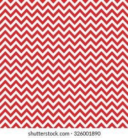 red & white chevron pattern, seamless texture background