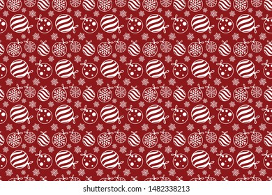 The red wrapper for christmas holiday