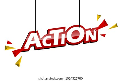 red and yellow tag action