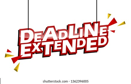 red and yellow tag deadline extended
