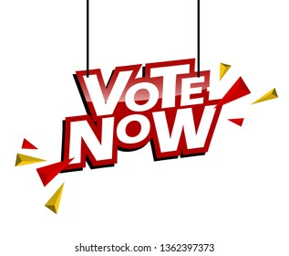 red and yellow tag vote now