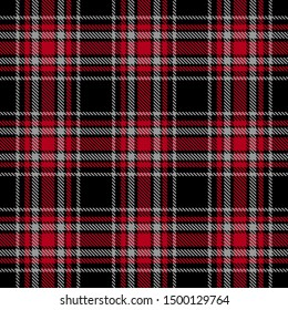 Red,Gray and Black Tartan Plaid Scottish Seamless Pattern. Texture from tartan, plaid, tablecloths, shirts, clothes, dresses, bedding, blankets and other textile.