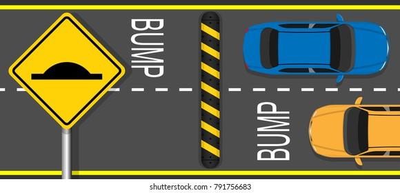 reduce speed bump safety device pedestrian public zone prevent crash car vehicle protection protector road street cross walk private way area school sign floor equipment break motor