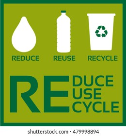 Reduce-Reuse-Recycle-vector ECO concept