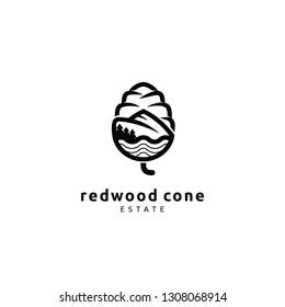 Redwood Cone Estate Logo