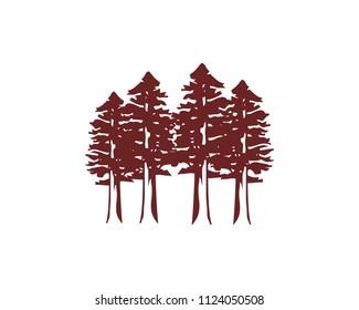 Redwood forest logo