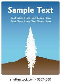 Redwood Tree Invitation