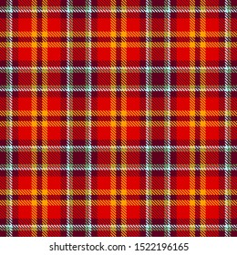 Red,Yellow,Brown-Red and Blue Tartan Plaid Scottish Seamless Pattern. Texture from tartan, plaid, tablecloths, shirts, clothes, dresses, bedding, blankets and other textile.