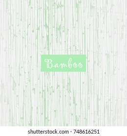 Reed Bamboo Patina Texture in pastel blue color and white. Trendy rustic background for wallpaper, wrapping paper, textile, invitation cards, posters, home decor, blog, birthday. Vector