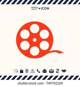 Reel film symbol