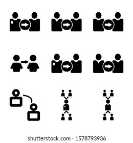 referal icon isolated sign symbol vector illustration - Collection of high quality black style vector icons