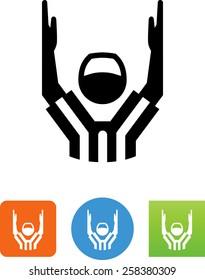 Referee / touchdown icon