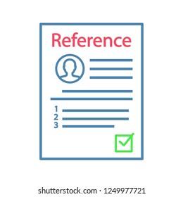 employment references stock vectors images vector art shutterstock