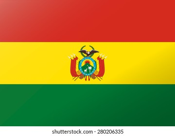 reflection flag bolivia