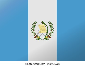 reflection flag guatemala