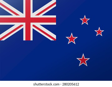 reflection flag new zealand