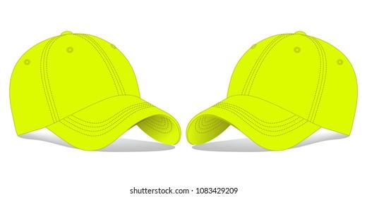 Reflective Blank Baseball Cap