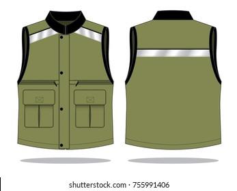Reflective vest design