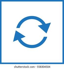 refresh. cyclic arrows