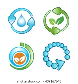 refresh and ecology icons