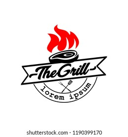 Refresh Grill Logo template vector