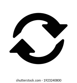 refresh  icon vector logo symbol