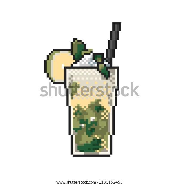 Image Vectorielle De Stock De Rafraîchir La Limonade Glacée
