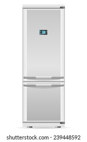 refrigerator for home use vector illustration isolated on white background