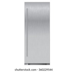 Refrigerator. Vector illustration isolated on white background.