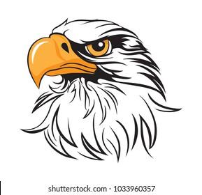 Regal Eagle Head