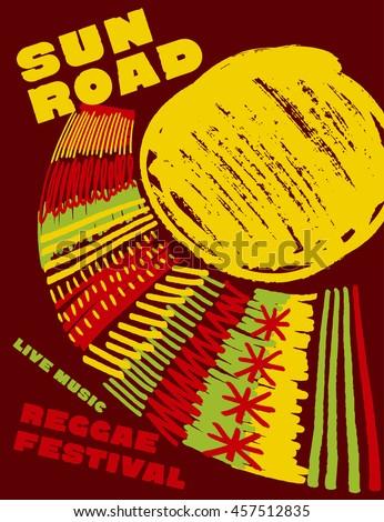 reggae music classic color