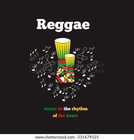 Reggae musical instrument collection