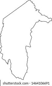 region of Australian Capital Territory map
