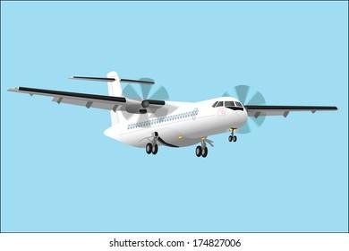 Regional passenger airplane