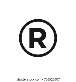 Register Circle Icon Vector Template