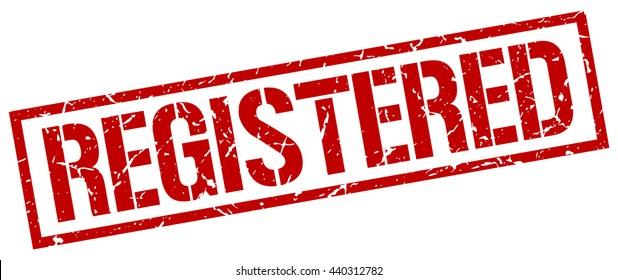 registered stamp.stamp.sign.registered.